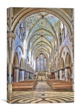 Boxgrove Abbey, Canvas Print
