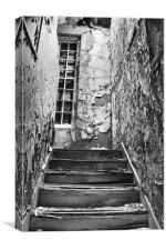 On A Dark Dark Stair, Canvas Print
