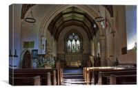 St Peter Pembury Old Church, Canvas Print