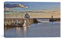 Royal Harbour Ramsgate, Canvas Print