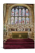 St Michael And All Angels Withyham, Canvas Print