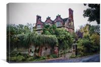 Hollingbourne Manor, Canvas Print