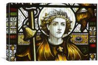 St George, Canvas Print