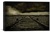 Clouds Over The Causeway, Canvas Print