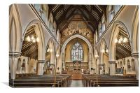 St Michael And All Angels Maidstone, Canvas Print