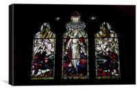 St Michael And Angels, Canvas Print
