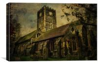 St Lawrence Thanet, Canvas Print
