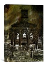 Left To Decay, Canvas Print