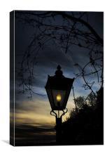 Twilight Light, Canvas Print