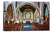 St Werburgh at Hoo, Canvas Print