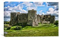 Carew Castle, Canvas Print