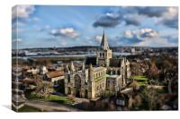 Miniature Cathedral, Canvas Print