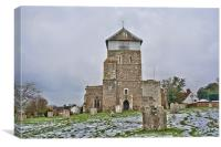 St Michael and All Angels Marden, Canvas Print