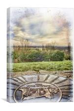 The View From Pitsea Mount, Canvas Print