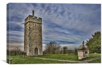 St Michael Pitsea Mount, Canvas Print
