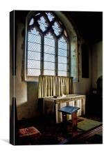 St Augustine Snave, Canvas Print