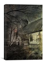 Snave Church, Canvas Print