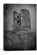 Hadleigh Castle, Canvas Print