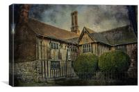 Stonewall Farmhouse, Canvas Print