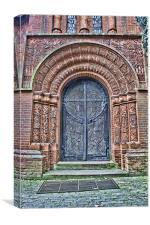 Watts Chapel The Door, Canvas Print