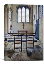 Small Congregation, Canvas Print