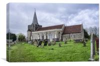 All Saints Frindsbury, Canvas Print