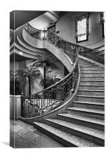 Spanish Stairs, Canvas Print