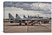 MiG Ramp, Canvas Print