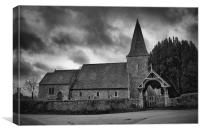 St Mary Hinxhill, Canvas Print