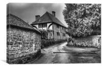 Church House Loose, Canvas Print