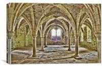 Common Room Battle Abbey, Canvas Print
