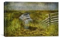 Marshscape, Canvas Print