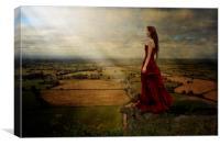 Contemplation, Canvas Print