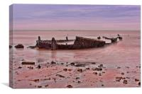 Barge Boom, Canvas Print
