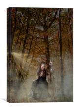 Autumn Trail, Canvas Print