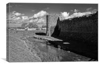Pevensey Castle, Canvas Print