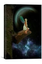 Star Gazing, Canvas Print