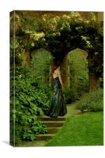 In The Garden, Canvas Print