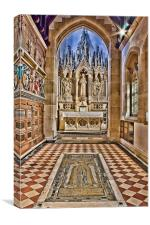 St Augustine Ramsgate, Canvas Print
