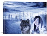 Winter Coming, Canvas Print