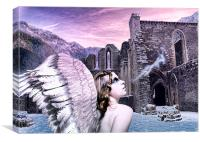 Angel Breath, Canvas Print
