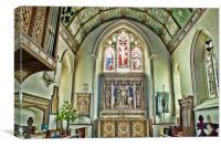 St Nicholas Chislehurst, Canvas Print