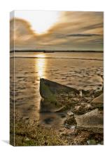 Swale Side, Canvas Print