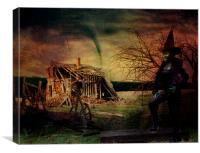Return To Kansas, Canvas Print