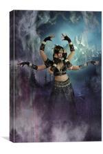 Kali, Canvas Print