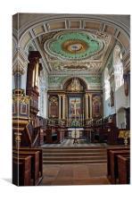 All Saints Northampton, Canvas Print