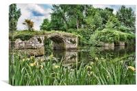 The Great Bridge Warwick, Canvas Print