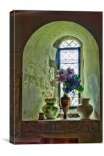 In The Window, Canvas Print