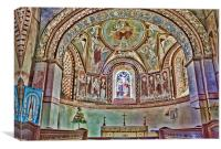 St Michael and All Angels Copford, Canvas Print