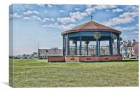 Deal Bandstand, Canvas Print
